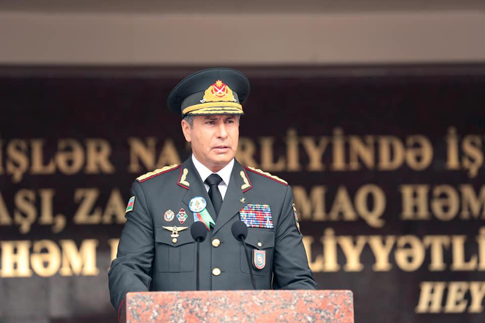 Vilayət Eyvazov polkovniki rəis təyin etdi