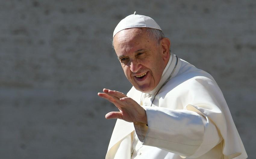<p><strong>Roma Papası ABŞ-ın dövlət katibi ilə görüşdən imtina edib</strong></p>