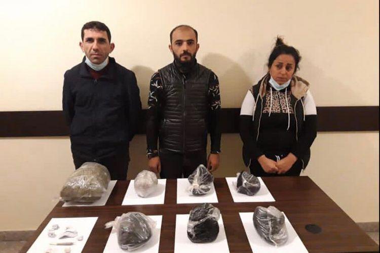 Azərbaycana 54 kq-dan artıq narkotik gətirmək istəyən saxlanıldı