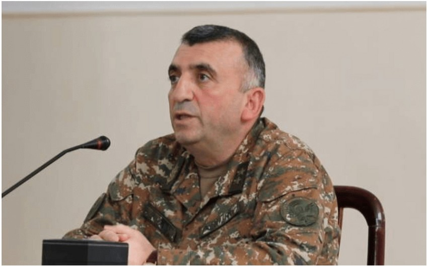 Ermənistan Baş Qərargah rəisinin müavini işdən çıxarılıb