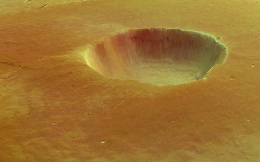 Marsda çox sayda vulkan püskürüb
