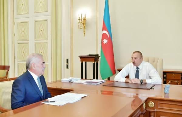Prezident Vasif Talıbovla bağlı sərəncam verdi