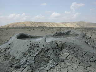Qobustan rayonunda Şıxzəhirli vulkanı püskürüb